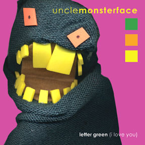 letter green (i love you)