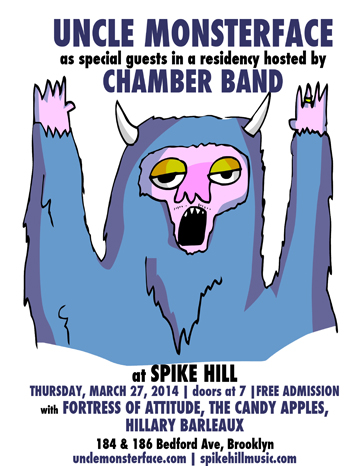 spike hill march 27 flyer with big yeti